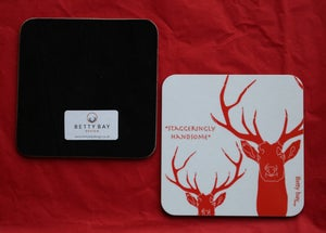 Image of Set of Four Staggeringly Handsome Coasters