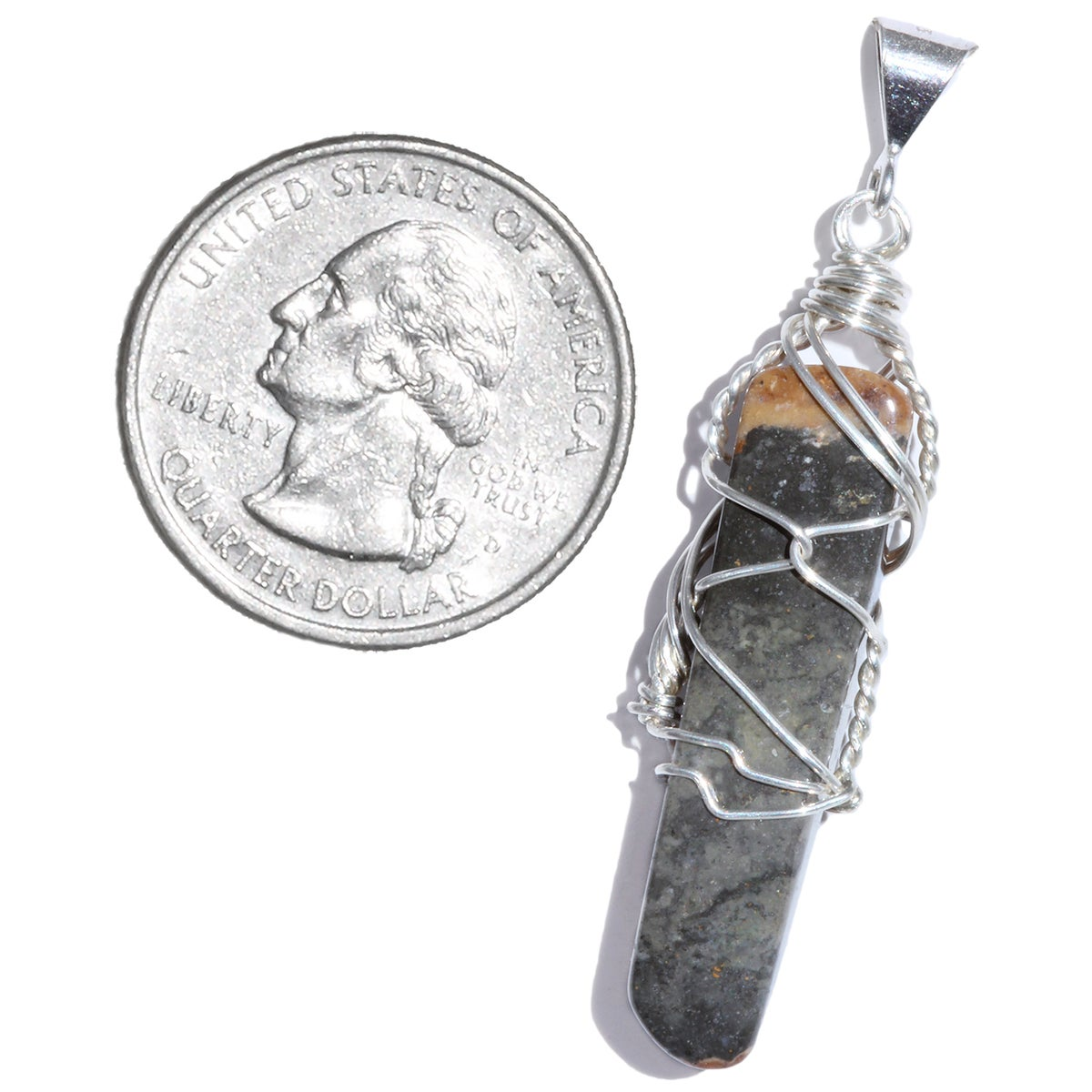 Revelation Stone Handmade Pendant