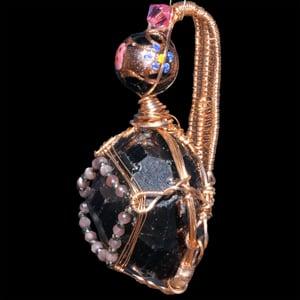 Image of Garnet Crystal Handmade Pendant
