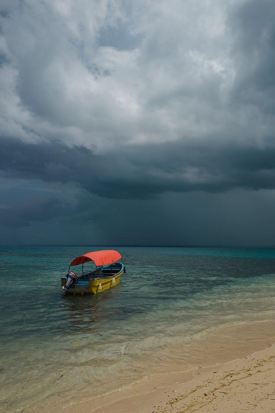 Image of Approaching Storm, Zanzibar