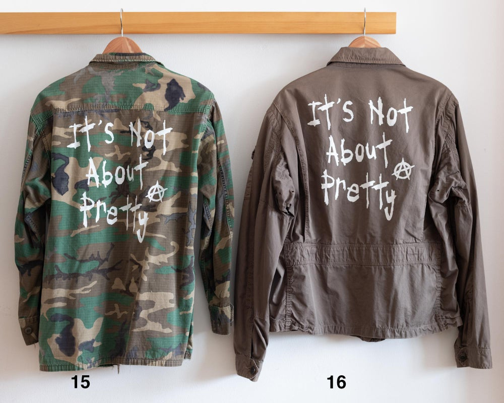 Image of   Vintage Camo Jackets - LIMITED STOCK