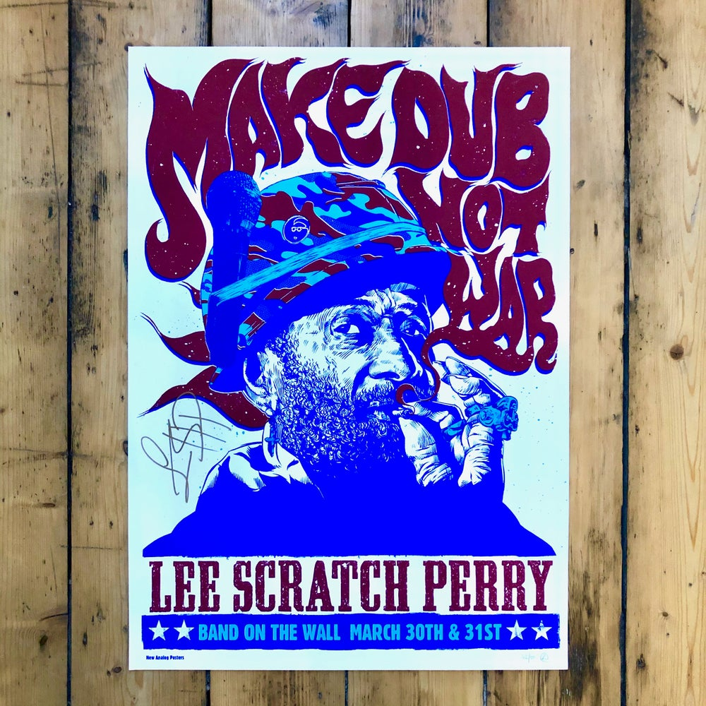 Image of Lee Scratch Perry - Signed Make Dub