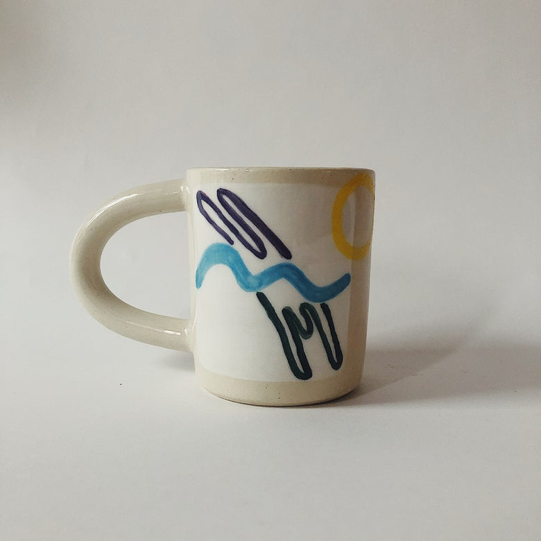 Image of Swimmer Mug // PREORDER