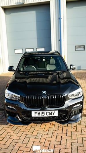 Image of AC Schnitzer Front and Rear Spoiler Elements for BMW X3 (G01) M Sport