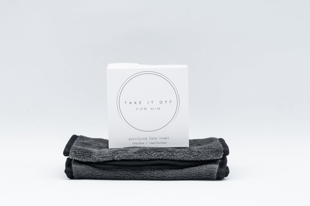 Image of For Him - Purifying Face Towel