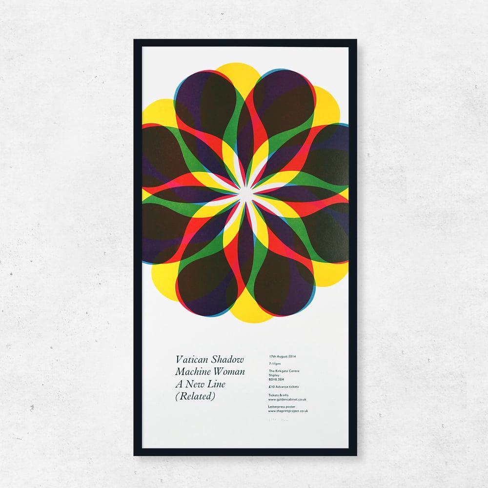 Image of Vatican Shadow Golden Cabinet Poster