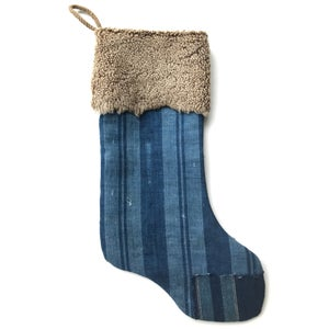 Image of CHRISTMAS STOCKING - BORO