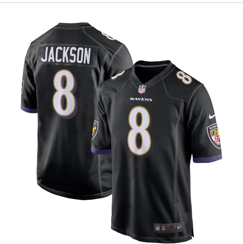 Image of Lamar Jackson Ravens Jersey