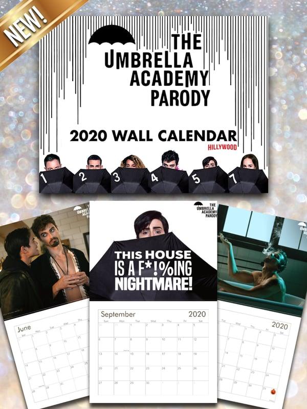 Image of The Umbrella Academy Parody 2020 Calendar