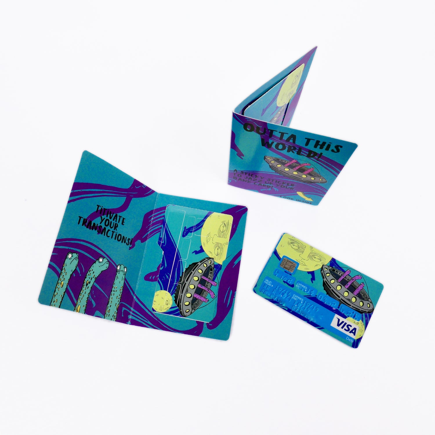 Image of Bank Card Stickers