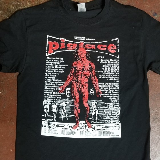 Image of Pigface 2019 tour Poster shirt