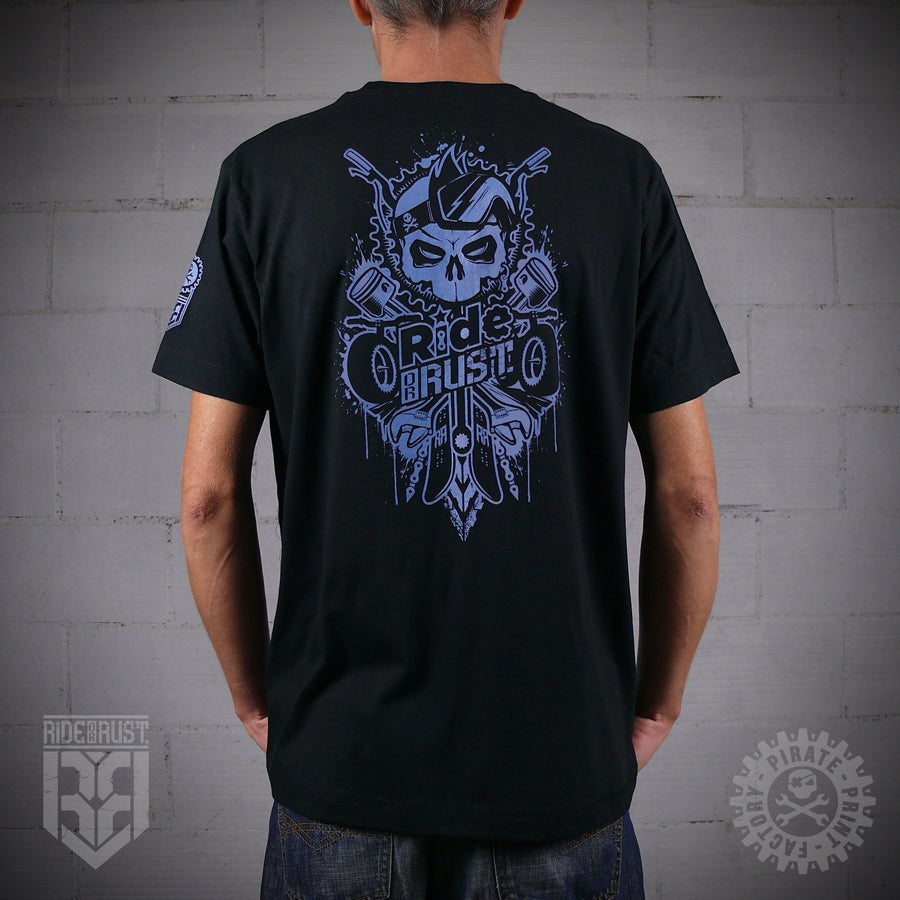 Image of T-SHIRT GHOST RIDER BLACK
