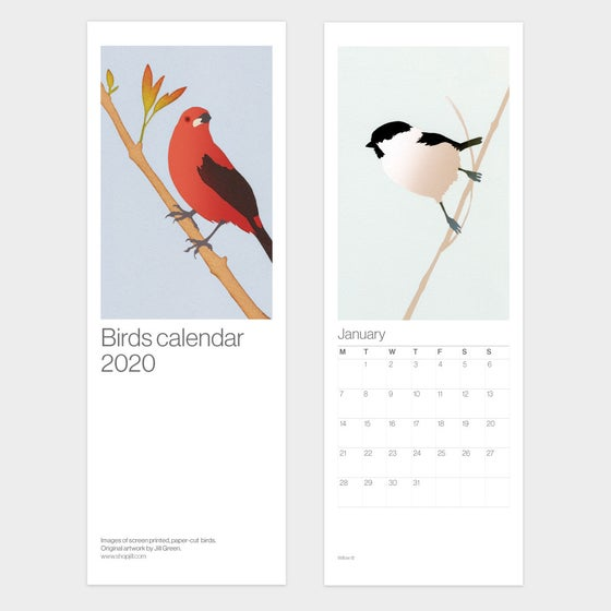 Image of 2020 Birds Calendar – Free UK shipping!