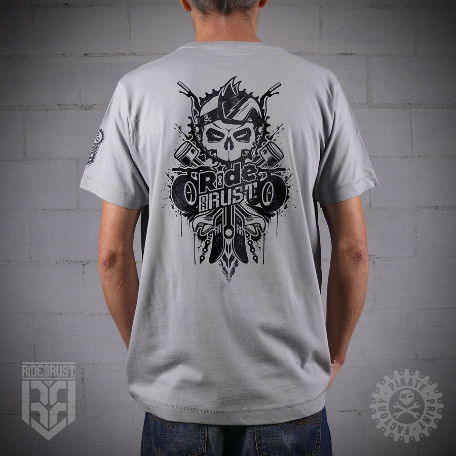Image of T-SHIRT GHOST RIDER GREY
