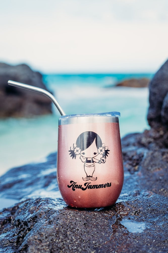 Image of Rose Gold AnuJammers Mermaid Tumbler