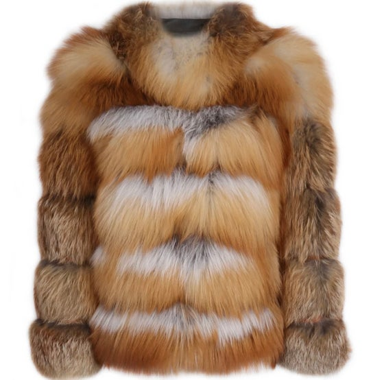 "Image of Chase ""Red Fox Fur"" Bomber"