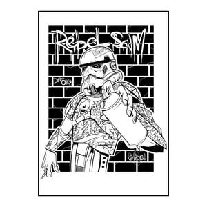 Image of REBEL SCUM PRINT