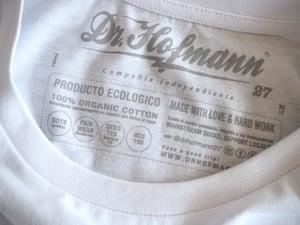 "Image of ""DONALD BOMBER"" - Organic Cotton - White"