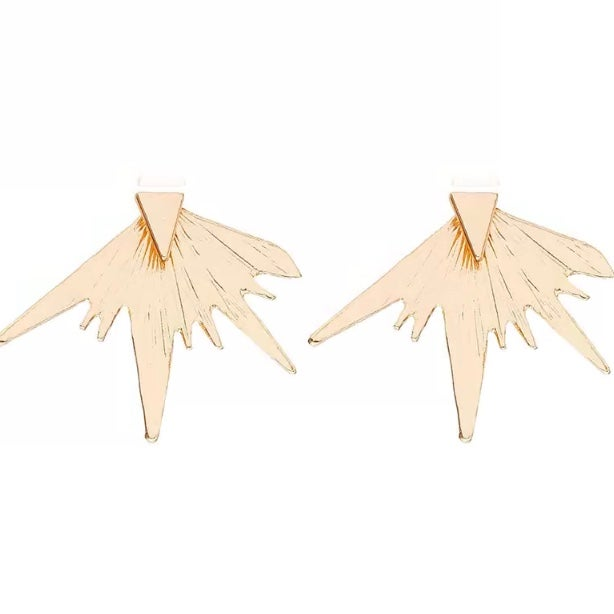 Image of Gold Layered Stud Earrings