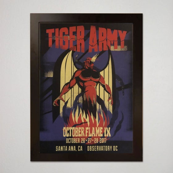 Image of TIGER ARMY OCTOBERFLAME 9-artist poof
