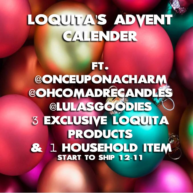 Image of (PREORDER) 2019 ADVENT CALENDER