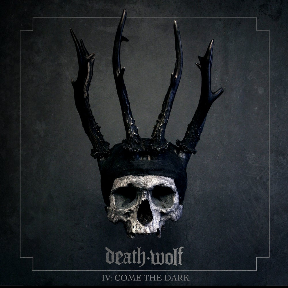 Image of Death Wolf - IV: Come The Dark Black LP