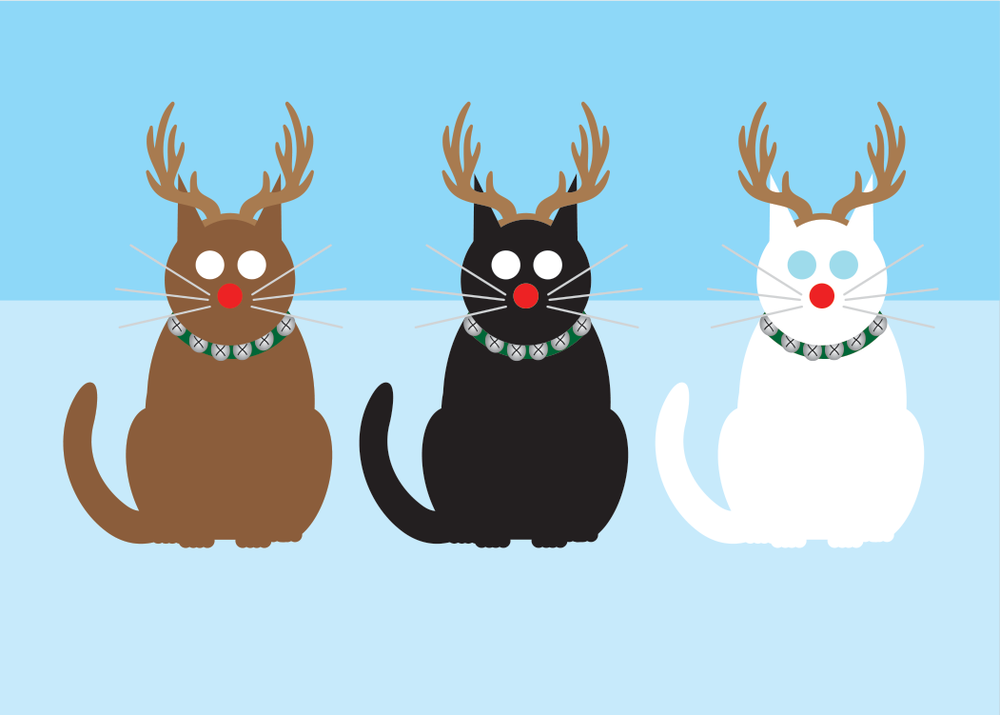 Holiday Cats and Dogs