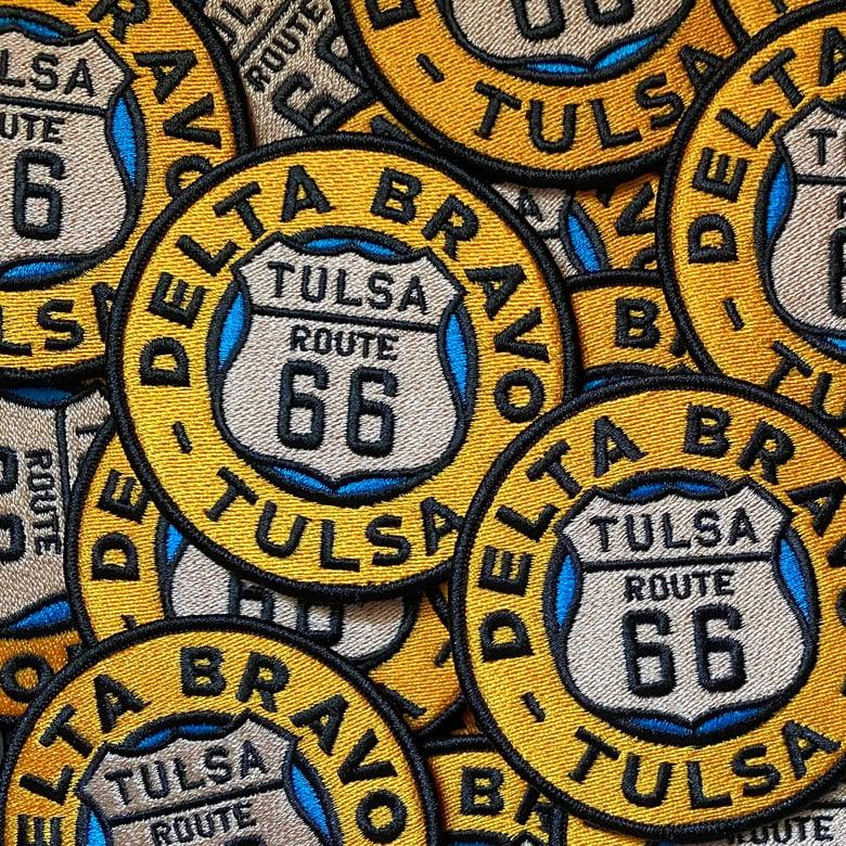 Image of Delta Bravo Urban Exploration Team Route 66 Tulsa Patch.