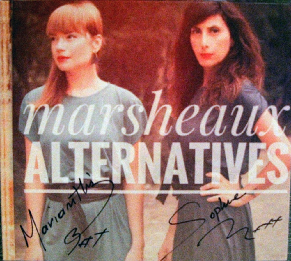 "Image of MARSHEAUX ""Alternatives"" CD album"
