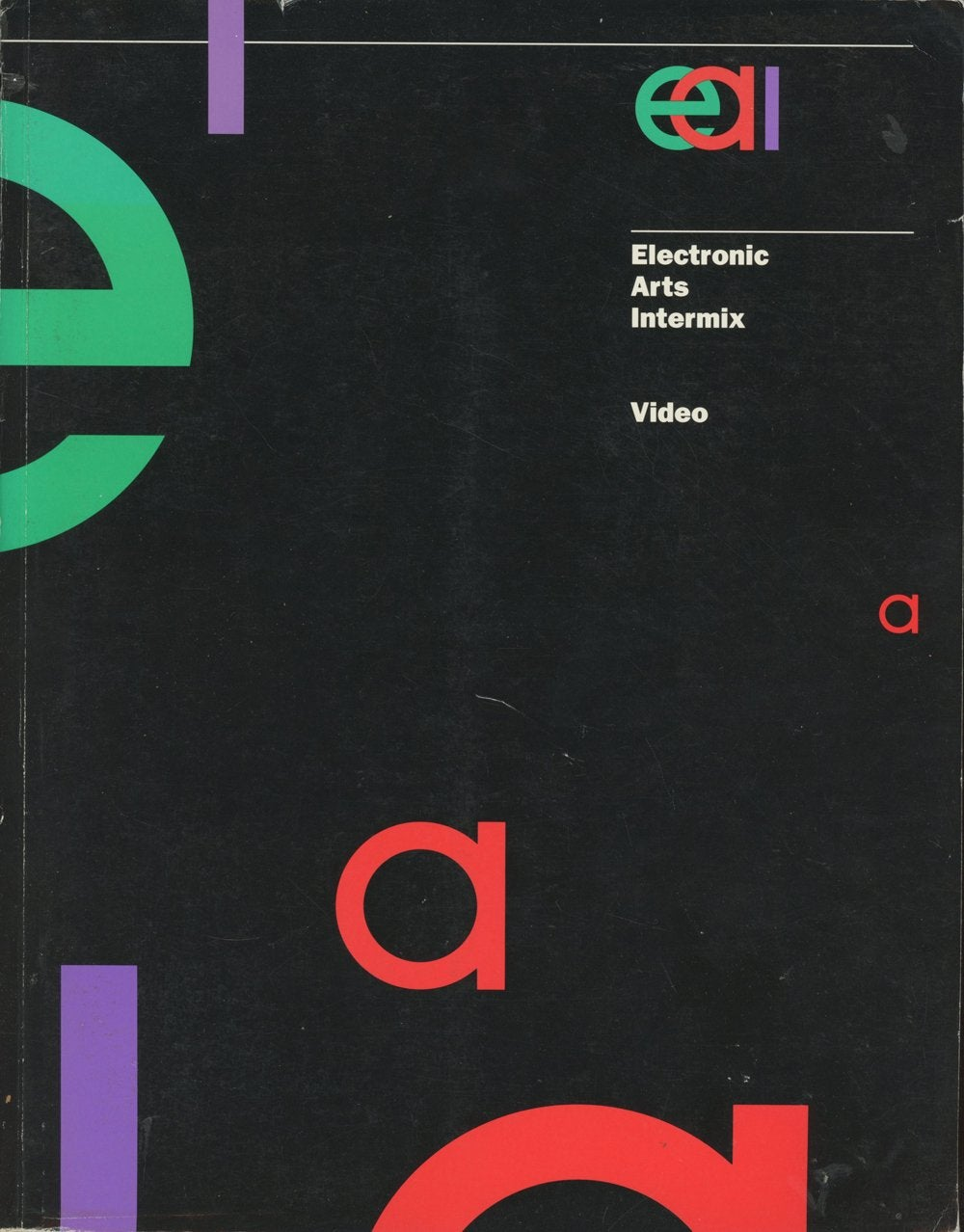 Image of Electronic Arts Intermix: Video (1991), softback catalog