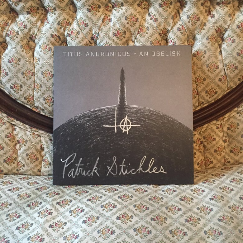 "Image of 'An Obelisk' 12"" LP *AUTOGRAPHED*"