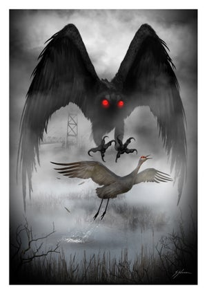 Image of West Virginia Mothman
