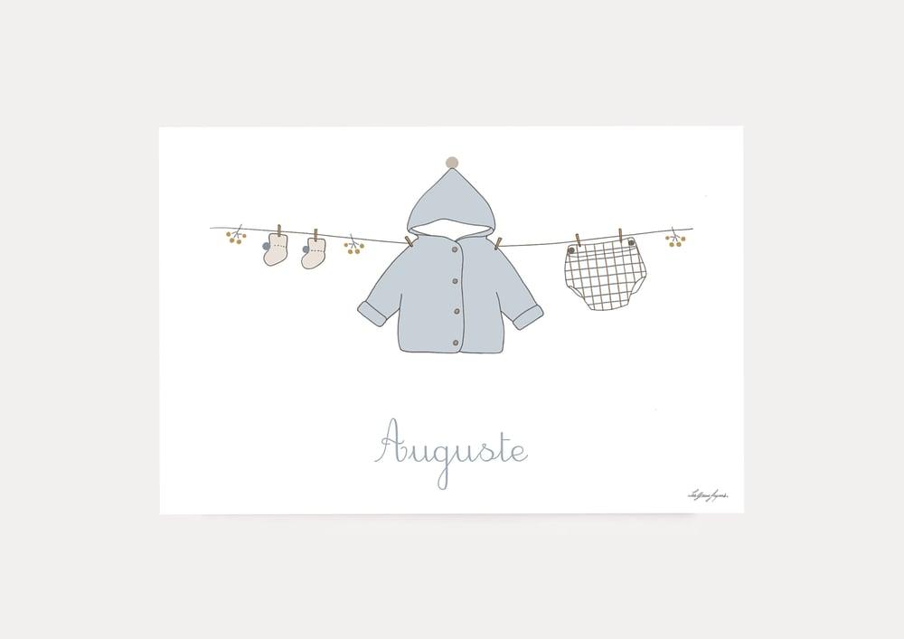 Image of Faire-part naissance Auguste