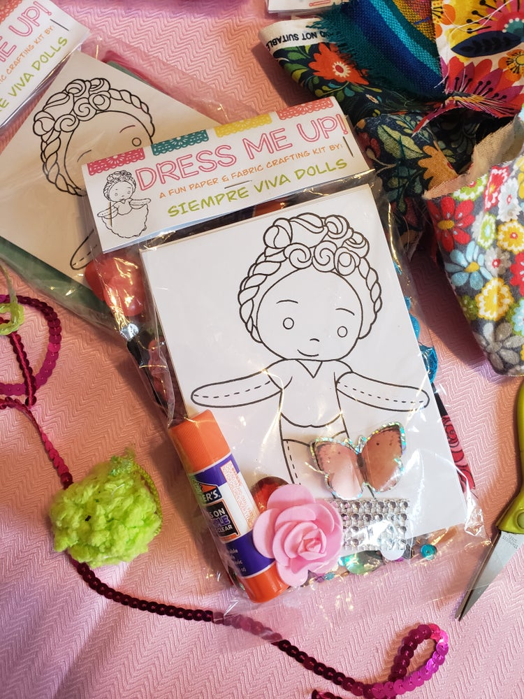 Image of Dress Me Up Doll Kit
