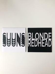 "Image of Suuns X Blonde Redhead 7"" Split"