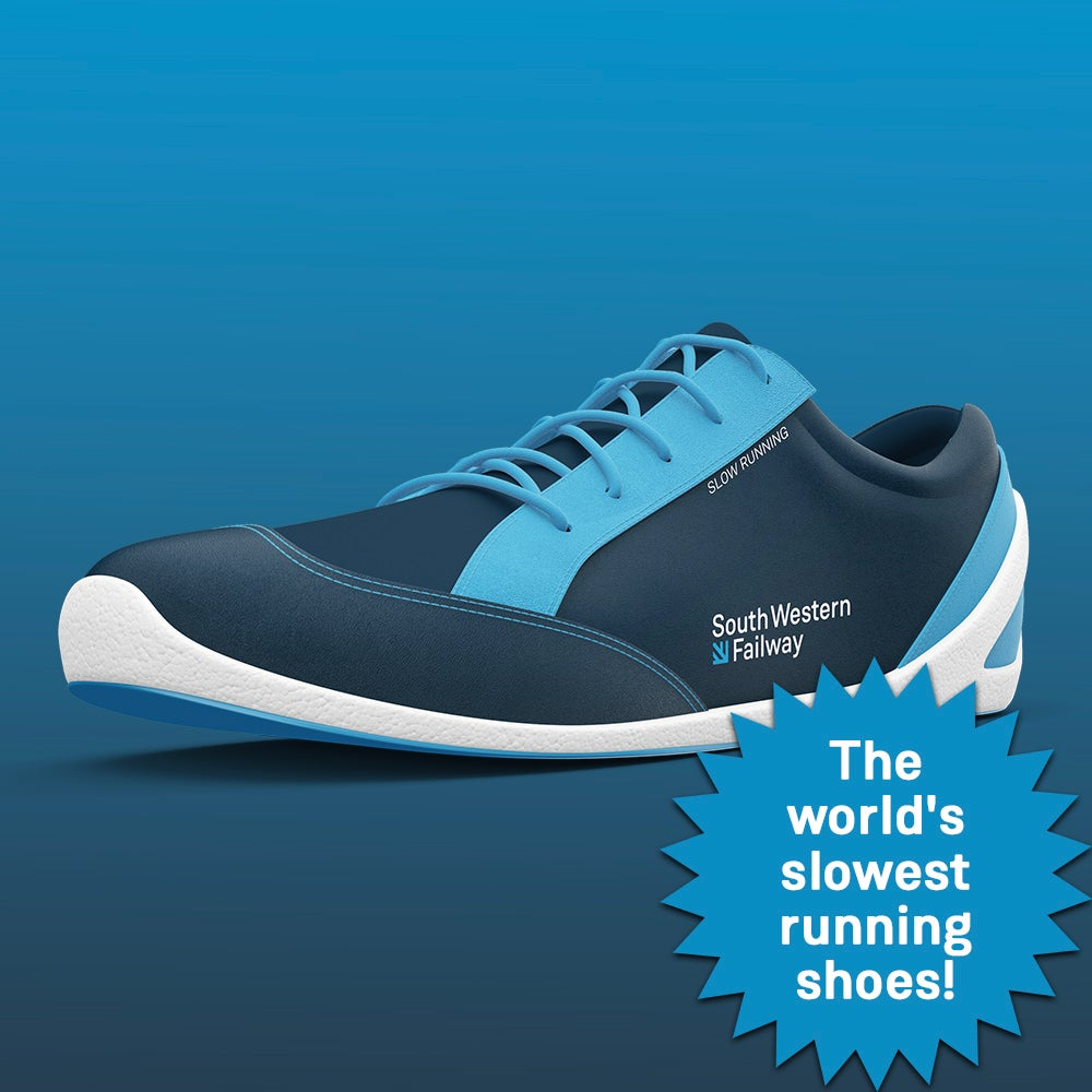 Image of The World's Slowest Running Shoes
