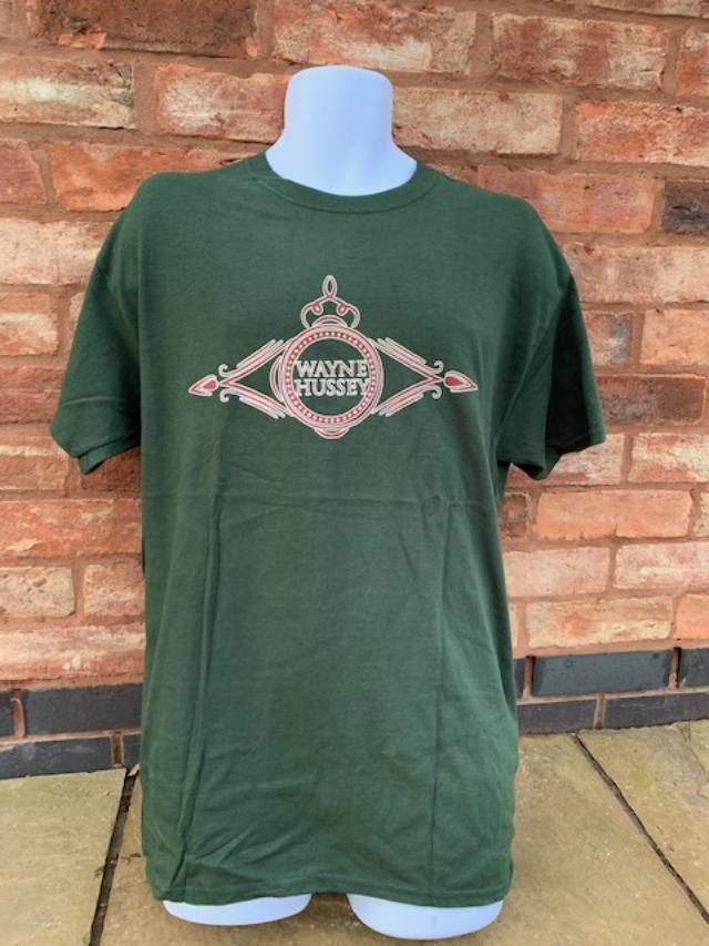 Image of Wayne Hussey Logo Shirt
