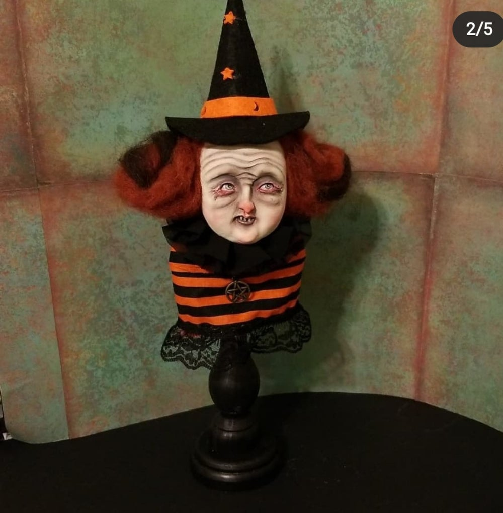 Image of SOLD OUT Ornament Witch