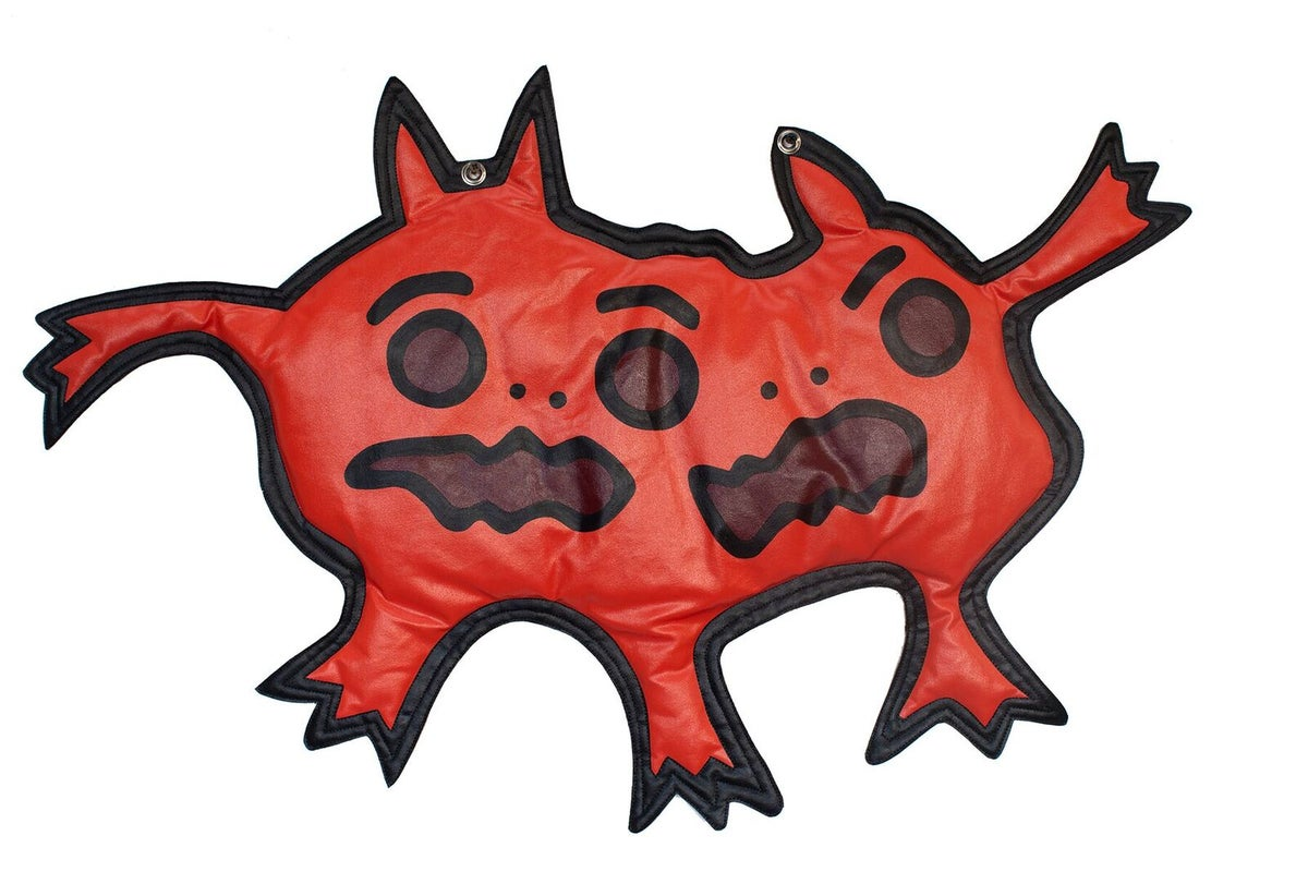"Image of ""Bipolar Mitosis"" (Wall Plush)"
