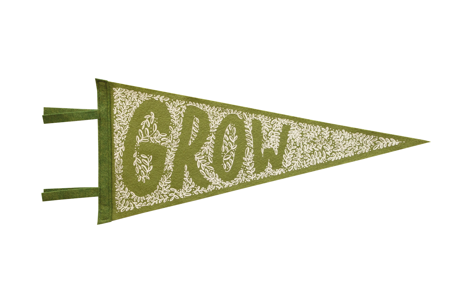 "Image of GROW 18"" PENNANT"