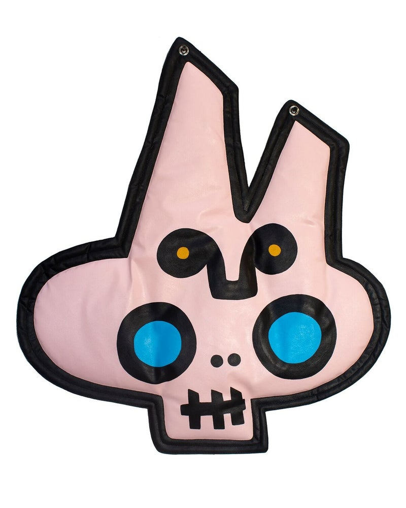 "Image of ""Tochtli/Bunny Skull"" (Wall Plush)"