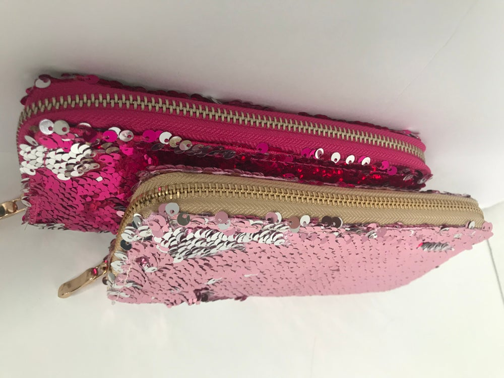 Image of Sequin Wallet 2COLORS