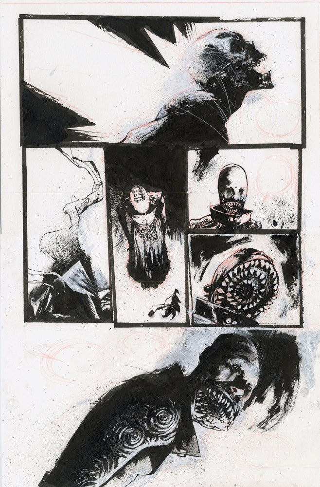 Image of Spawn Original Art page 14, issue 282
