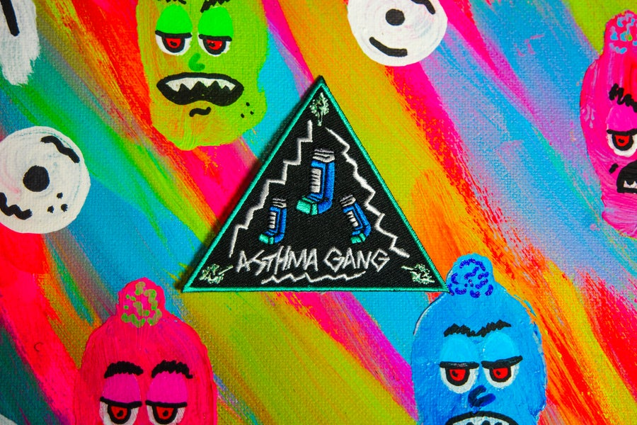 Image of Asthma Gang Triangle Patch