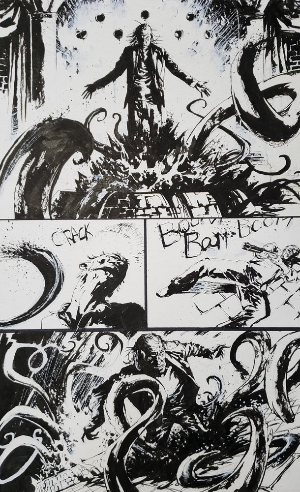 Image of Dead Irons Original Art page 16, issue 4