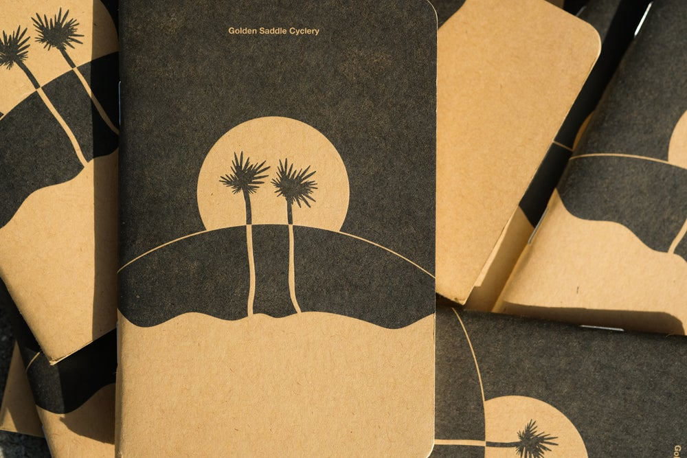 Image of Two Palms Blank Notebook by Mordecai Book Building!
