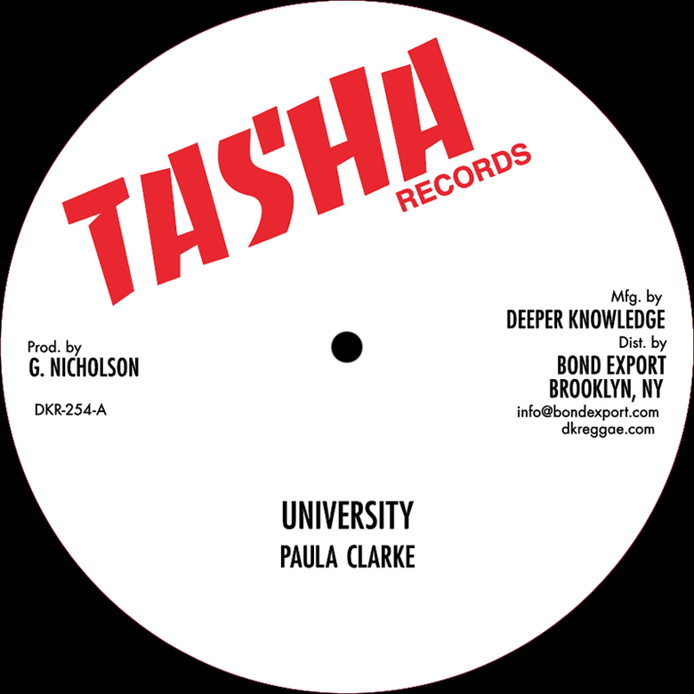 "Image of Paula Clarke / Frankie Jones - University / Mr. Officer 12"" (Tasha)"