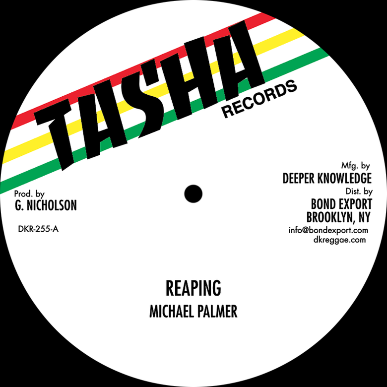 "Image of Michael Palmer / Frankie Jones - Reaping / Acting So Strange 12"" (Tasha)"