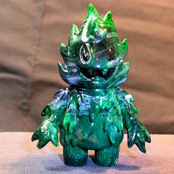 Image of Green jade swirl Honoo