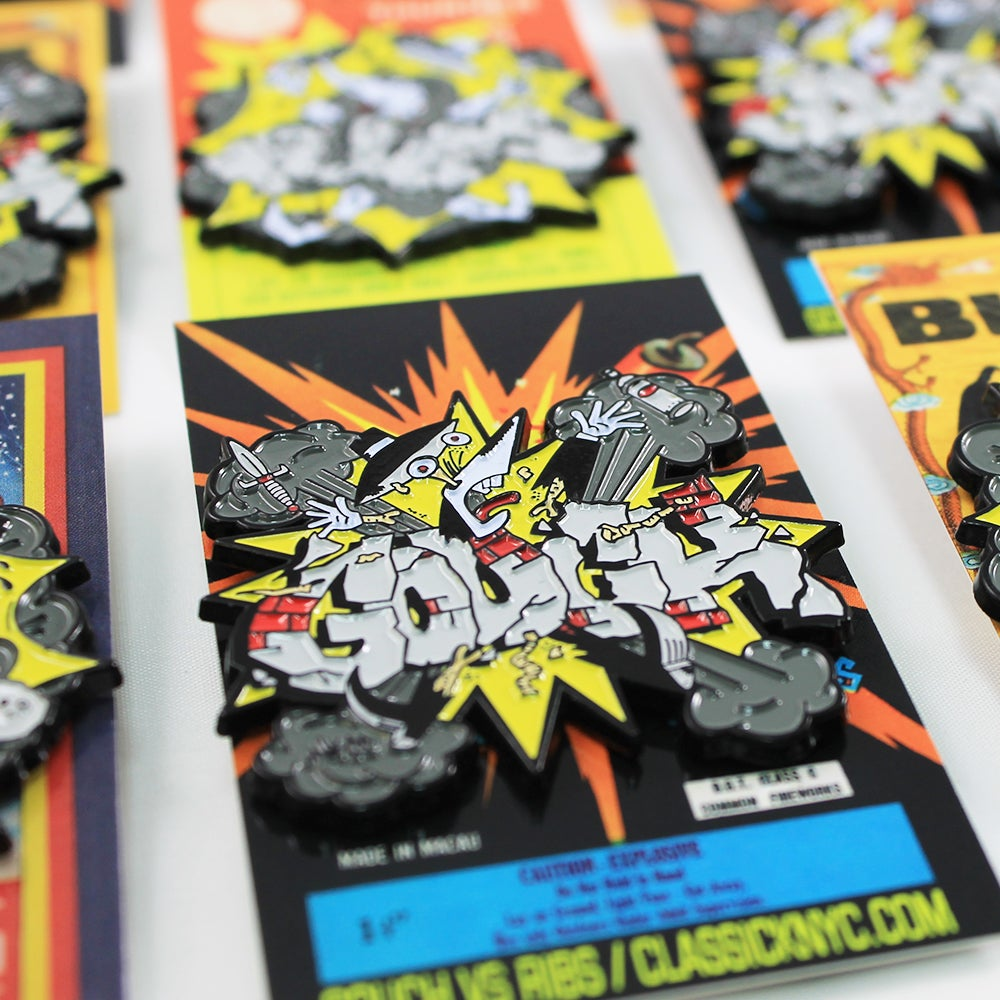 Image of Gouch vs Ribs - Explosive pin pack